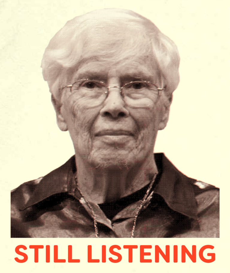 Pauline Oliveros, from the publication Sonic Meditations, published by Half Letter Press, 2017